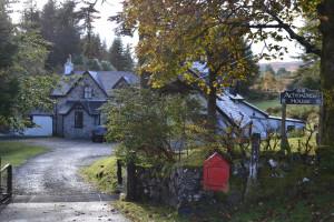 Exterior view of Achnadrish House.