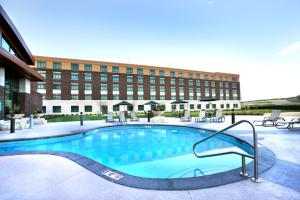 Outdoor pool at Riverside Casino & Golf Resort.