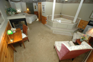 Romantic Suite at The Arbor Inn.