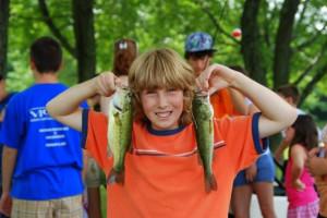 Fishing Fun at Wolff's Maple Breeze Resort