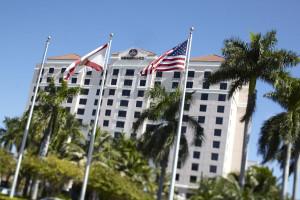 Exterior view of Renaissance Fort Lauderdale Cruise Port Hotel.