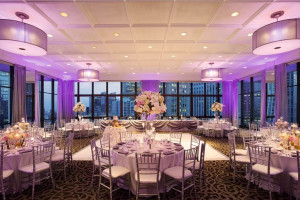 Wedding Layout at Wyndham Grand Chicago Riverfront