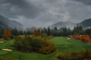 Golf course at The Resort at the Mountain.