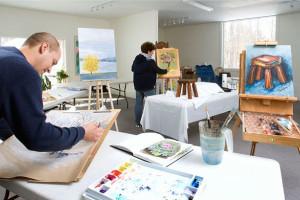 Art workshops at JW Marriott The Rosseau Muskoka Resort & Spa.