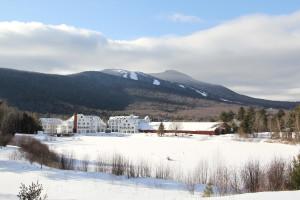 Exterior view of Waterville Valley Resort.