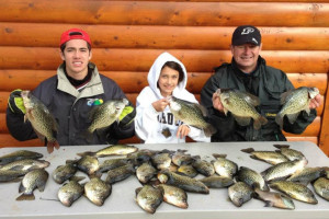 Fishing at Whispering Pines Resort.