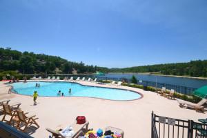 Outdoor pool at Stonebridge Resort.