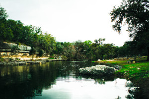 Scenic view at Flying L Guest Ranch.