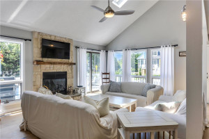 Rental living room at Long & Foster Vacation Rentals -Bethany Beach.