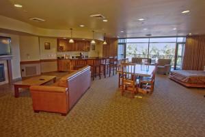 Guest suite at Kalahari Waterpark Resort Convention Center.