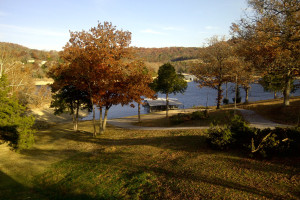 Grounds at White Wing Resort on Table Rock Lake.