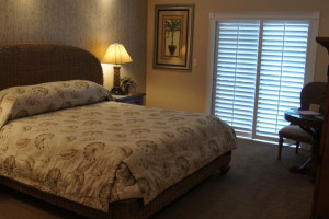 Guest room at Boca Grande Resort.