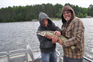 Fishing at Sand Lake Pines Resort & Campground