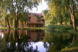Pond at Trout Creek Condominium Resort.