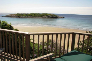 Rental beach view at Atlantic Vacation Homes.