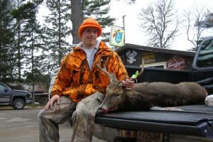 Hunting at Oxbo Resort.