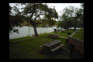 Condo grounds at Heart of Texas Lake Resort.