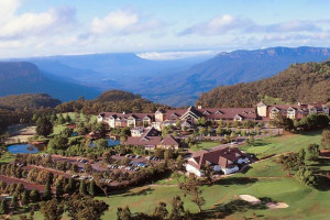 Exterior view of Fairmont Resort Blue Mountains.