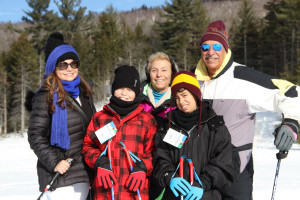 Group at Waterville Valley Resort.