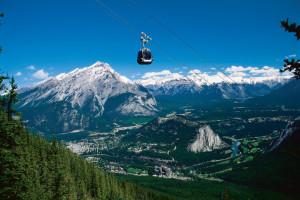 Mountains at Charlton's Banff.