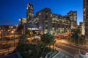 Exterior view of Hilton Montreal Bonaventure.