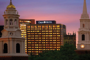 Exterior view of The Omni New Haven Hotel at Yale.