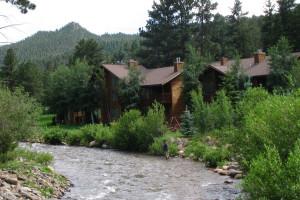 Resort view at Aspen Winds.