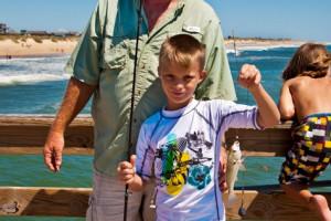 Fishing at Hatteras Realty