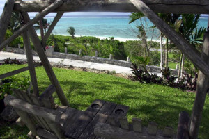 View from Orange Hill Beach Inn.