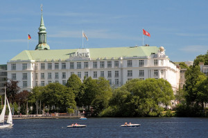 Exterior view of Kempinski Atlantic Hotel Hamburg.