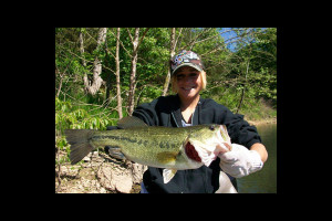 Fishing at Green Valley Resort.