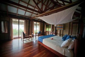 Guest room at Matava Resort.