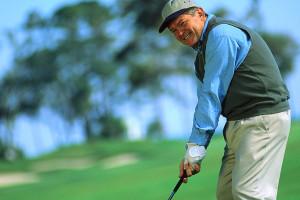 Golfing near Brooks and Shorey Resorts, Inc.