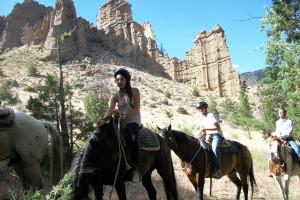 Horseback Riding at Bill Cody Ranch