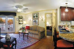 Villa interior at Westgate Williamsburg.