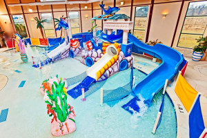 Indoor Waterpark at the Grand Marquis Resort Hotel & Suites