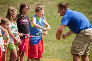 Organized children's activities at Woodloch Resort