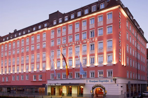 Exterior view of Eden-Hotel-Wolff.