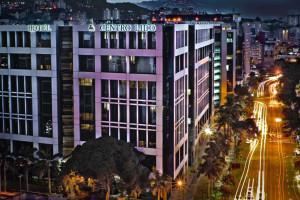 Exterior view of Hotel Centro Lido Regency.