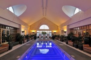 Indoor pool at The Spa at Norwich Inn.