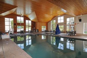 Indoor pool at Newport Resort.