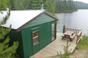 Cabin at Star Lake Fishing Resort.