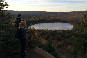 Hiking at The Mountain Inn at Lutsen.