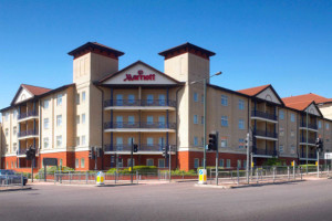 Exterior view of Bexleyheath Marriott Hotel.