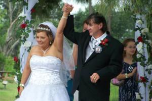 Wedding at Lone Star Jellystone.