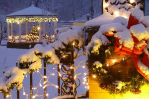 Holiday season at Berkeley Springs Cottage Rentals.