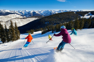 Skiing at The Osprey at Beaver Creek, A Rock Resort.