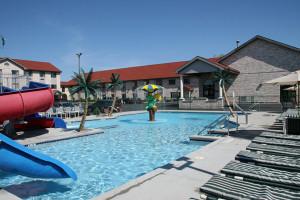 Outdoor Waterpark at Alakai Hotel