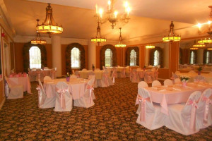 Wedding reception at Aurora Inn.