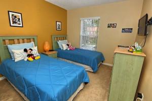 Vacation rental kids bedroom Vista Cay Inn.
